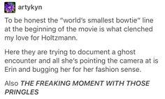 Ghostbusters, Jillian holtzmann, Erin Gilbert