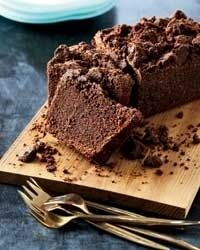 Cocoa-Carrot Cake with Cocoa Crumble by pastry chef William Werner. Easy to adapt for gluten-free, sugar free, paleo, perfect health diet, low-carb etc