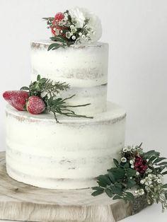 Naked Cake Rezept   Einfach U0026 Wunderschön