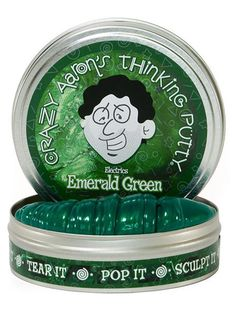 Crazy Aaron's Thinking Putty // Emerald Green