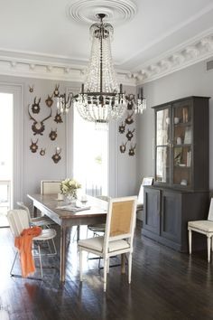 dark floorboard with my chandelier