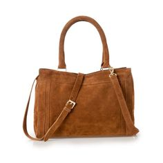 #Suede #Handbag. 2 zipped pockets at the front. 1 zipped pocket inside. Adjustable and removable shoulder strap. #simplestyle #wantit