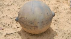 The mystery ball from space: Experts baffled by metal sphere that crashed to Earth in remote area of Namibia Unexplained Phenomena, Unexplained Mysteries, Ancient Mysteries, Ancient Artifacts, Aliens And Ufos, Ancient Aliens, Out Of Place Artifacts, Mysterious Universe, Mysteries Of The World