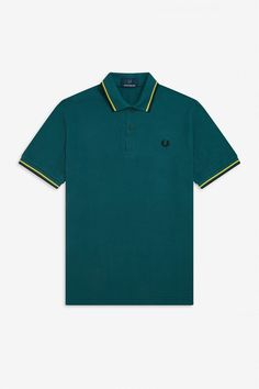 The Original Men's Fred Perry Shirt. Punk Store, Twin Tips, Polo T Shirts, Fred Perry, One Design, Yellow Black, Good Music, Polo Ralph Lauren, Mens Tops