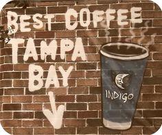 Coffee.  Tampa, Florida