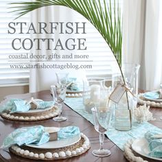 Starfish Cottage on Etsy Coastal decor, gifts and more! Your holiday headquarters for Coastal Christmas Decor
