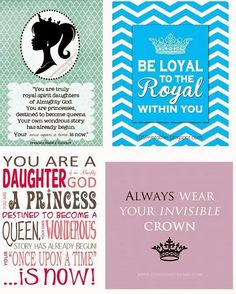 Young Women in Excellence: Divine Nature #2- Daughter of a King -Personal Progress