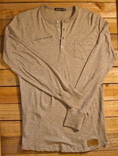 a5e9d0eadc9 Men s Alternative Apparel Beckham Henley Channel your inner David Beckham  with this smooth long sleeved henley