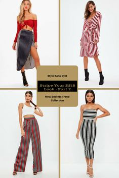 As promised here is part 2 of the Stripe Your SS18 Look collection 😍❤️ - http://www.stylebankbyb.com/fashion/endless-trend-stripe-your-ss18-look-part-2