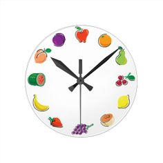 ==> reviews          Food For Thought_Totally Fruity Wall Clock           Food For Thought_Totally Fruity Wall Clock in each seller & make purchase online for cheap. Choose the best price and best promotion as you thing Secure Checkout you can trust Buy bestThis Deals          Food For Thou...Cleck Hot Deals >>> http://www.zazzle.com/food_for_thought_totally_fruity_wall_clock-256798271987275372?rf=238627982471231924&zbar=1&tc=terrest