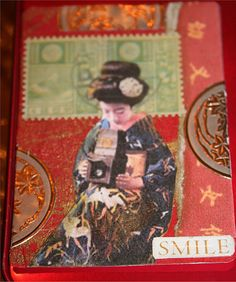 Smile ATC by DianthusMoon, via Flickr