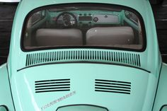 Vintage Volkswagon Beetle Mint Green