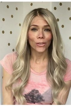 ** Full Lace Gardeaux Wig** UNCUT LACE! Human Hair Rooted Blonde