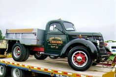 international KB Trucks | 1940 International – I found this truck in Denville, NJ. I bought it ...