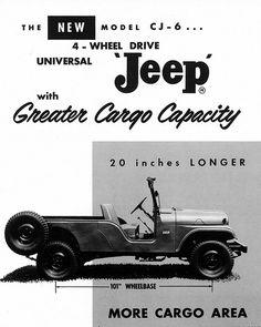 1960 #Jeep CJ6 Universal Ad