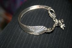 Butterfly cuff bracelet made with a silver plated by GeniceRill, $15.00