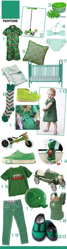 KidStyleFile Roundup : Emerald Green