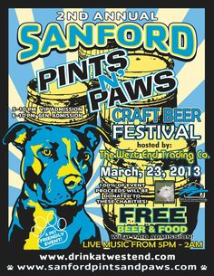 Pints and Paws to benefit Dolly's Foundation and SPCA of Central Florida on 03/23.  For more information, go to http://www.orlandocanineconnections.com