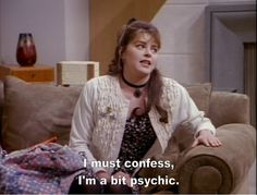 Image result for daphne im a bit psychic gif