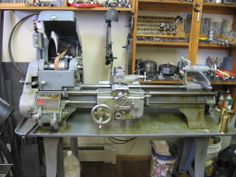 Show Us Your Lathe - Page 34 of 57 ~This Logan 820 is like my own, just two or three years older.  My spindle still runs smooth and true within .0005 at over 65 years of age.