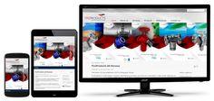 Joomla webløsning og design bygget fra grunnen etter skisse fra grafiker for Fireproducts.