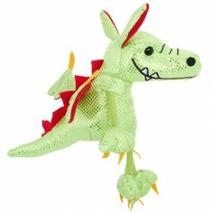The Puppet Company Ltd Green Dragon Finger Puppet