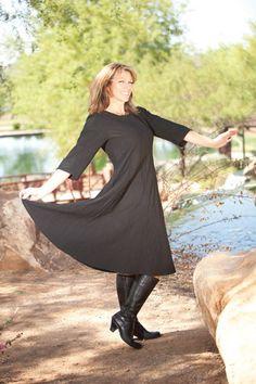 Love Deva! 3/4 Length Sleeve Tara Dress