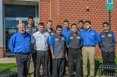 Technicians team at Hogan & Sons Tire and Auto in South Riding, VA. Visit www.hoganandsonsinc.com