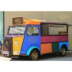 Image result for green and blacks h van Citroen Van, Citroen Type H, Catering Van, Food Vans, Coffee Truck, All The Pretty Horses, Food Trucks, Vehicles, Vintage Food