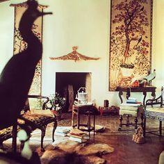 Chez Pauline de Rothschild , such style !!