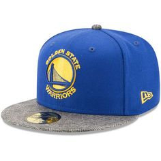 Golden State Warriors New Era Gripping Vize 59FIFTY Fitted Hat - Royal