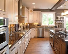 DARK GRAY GRANITE KITCHEN Design, Pictures, Remodel, Decor and Ideas - page 12