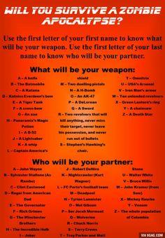 An axe and Mel Gibson you?