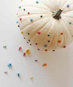 Confetti pumpkin.