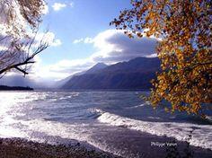 Le lac depuis Brison !!