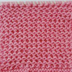 12 vändbara stickmönster (strukturmönster) till halsdukar, sjalar, filtar ... Knitting Stitches, Knitting Patterns, Loom, Crochet, Monster, Threading, Knit Patterns, Ganchillo, Knitting Stitch Patterns