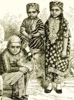 It could be that the Parsi Jhabla was a Tunique for Children? (Pharyah)