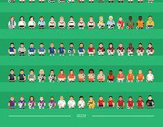 Minimal Soccer Players