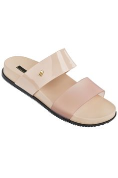 Cosmic Star Walker sandals with thick double contrasting straps.