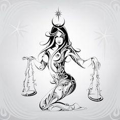 Image result for sexy libra tattoo design