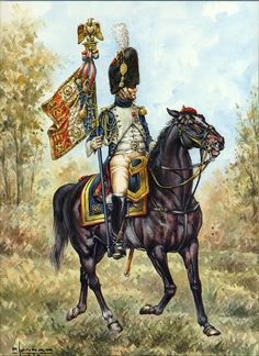 Lieutenant Eagle bearer of the Mounted Grenadier of the Guard