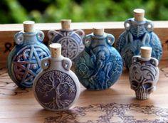 Potion bottles  love them!