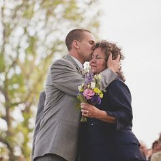 Brides: 30 Emotional Mother-of-the-Bride Moments | Mother-of-the-Bride Dresses | Brides.com