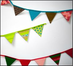Welcome guests with holiday bunting #ExpressionsTape