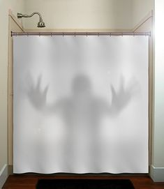 Hey, I found this really awesome Etsy listing at https://www.etsy.com/listing/153361415/halloween-gray-scary-ghost-shower