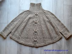 Temptation poncho is stylish and super cosy garment for your wardrobe. It is designed to keep you away from wind and cold. It is quick and fancy project for those who love cables. Thick yarn and large size of knitting needles make this project quick and easy to knit. The poncho is knitted bottom up as four parts and collar is knitted in the round before all parts are sewn together. The knitting pattern is easy to follow and suitable for intermediate knitters. It has 13 pages of row-by-row…