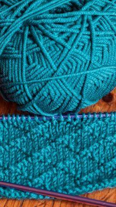 Knitting Stitches, Free Knitting, Embroidery Stitches, Knitting Patterns, Islamic Motifs, Blanket Yarn, Stitch 2, Knitted Headband, Stitch Markers