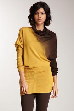Vertigo Draped Turtleneck Sweater by Vertigo on @nordstrom_rack