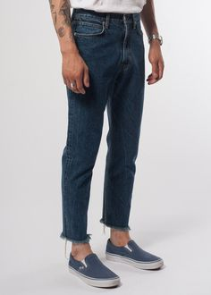 DENIM TROUSER • SECOND/LAYER
