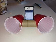This is just like the egg speaker! :) creative!